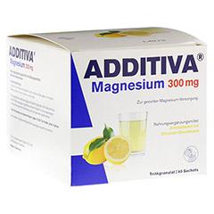 ADDITIVA Magnesium 300 mg N Pulver 40 Stück