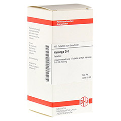 HARONGA D 4 Tabletten 200 Stück N2