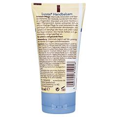 LUVOS Naturkosmetik Handbalsam Intensivpflege 50 Milliliter - Rückseite
