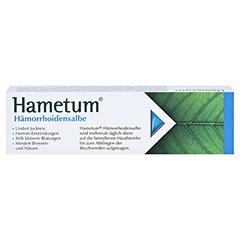 Hametum Hämorrhoidensalbe 50 Gramm - Rückseite