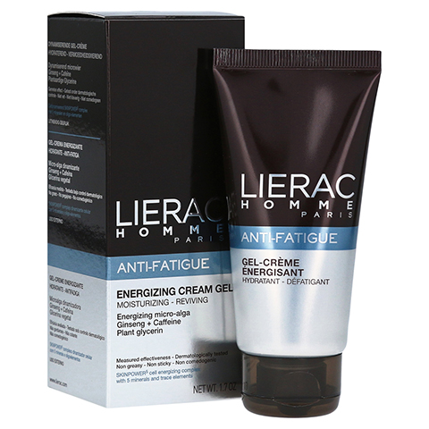 LIERAC Homme Anti-Fatigue Gel-Creme 50 Milliliter