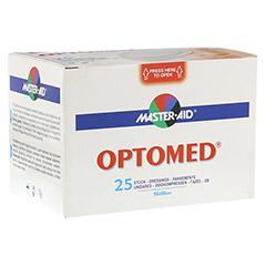 OPTOMED Augenkompressen steril selbstklebend 25 Stück