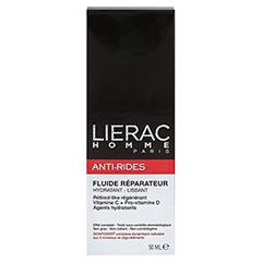 LIERAC Homme Anti-Rides Fluid Creme 50 Milliliter - Rückseite