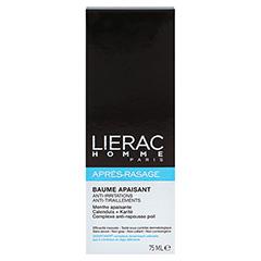 LIERAC Homme Apres Rasage Creme 75 Milliliter - Rückseite