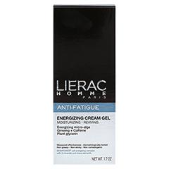 LIERAC Homme Anti-Fatigue Gel-Creme 50 Milliliter - Vorderseite