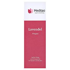 MEDITAO Lavendelöl 50 Milliliter - Vorderseite