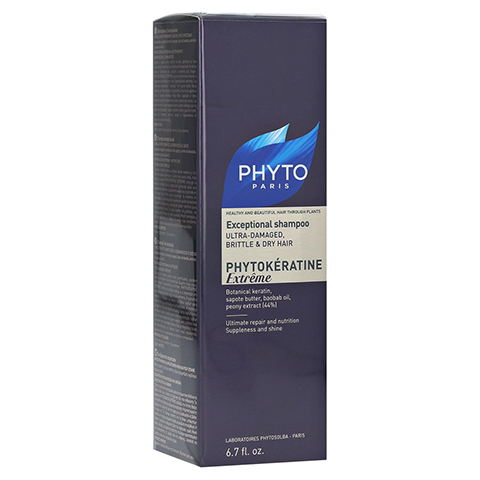 PHYTO PHYTOKERATINE Extreme Shampoo 200 Milliliter