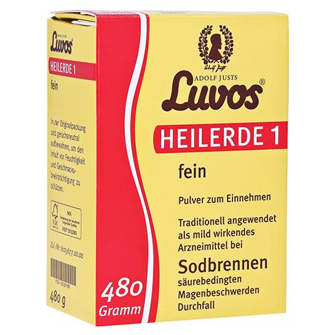 LUVOS Heilerde 1 fein 480 Gramm