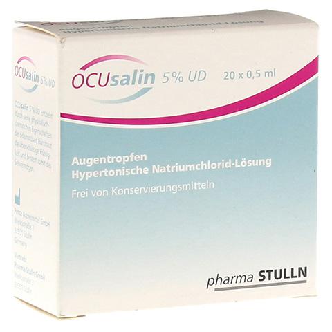 OCUSALIN 5% UD Augentropfen 20x0.5 Milliliter