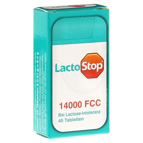 LACTOSTOP 14.000 FCC Tabletten Spender 40 Stück
