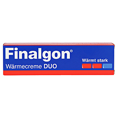 Finalgon Wärmecreme DUO 50 Gramm N2 - Vorderseite