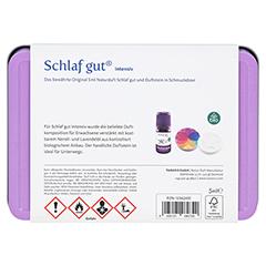 SCHLAF GUT Set inkl.Geschenkdose & Öl 1 Stück - Rückseite