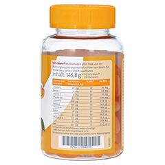 YaYaBeans Orange Multivitamin + Zink und Jod 90 Stück - Linke Seite