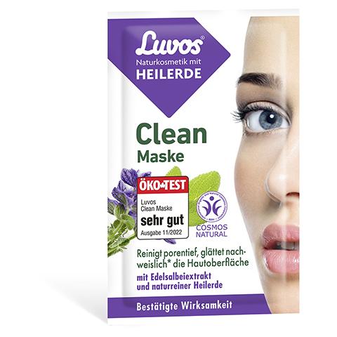 LUVOS Heilerde Clean-Maske Naturkosmetik 2x7.5 Milliliter