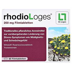 RHODIOLOGES 200 mg Filmtabletten 60 Stück - Vorderseite