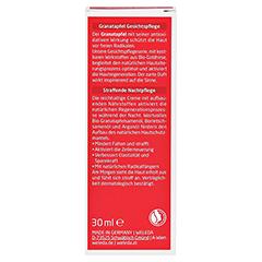 WELEDA Granatapfel straffende Nachtpflege 30 Milliliter - Rückseite