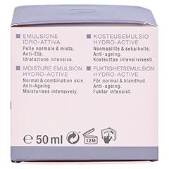 WIDMER Tagesemulsion Hydro-Active leicht parfüm. 50 Milliliter - Linke Seite