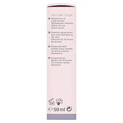 WIDMER Deo Dry Stick leicht parfümiert 50 Milliliter - Linke Seite