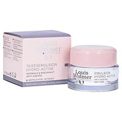 WIDMER Tagesemulsion Hydro-Active leicht parfüm. 50 Milliliter