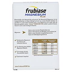 FRUBIASE MAGNESIUM Plus Brausetabletten 20 Stück - Rückseite