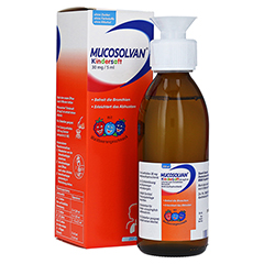 Mucosolvan Kindersaft 30mg/5ml 250 Milliliter N3