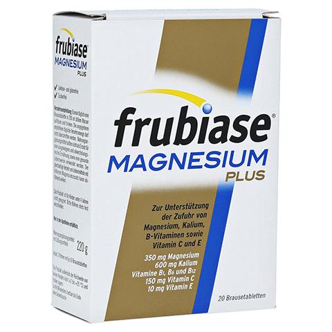 FRUBIASE MAGNESIUM Plus Brausetabletten 20 Stück