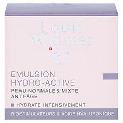 WIDMER Tagesemulsion Hydro-Active leicht parfüm. 50 Milliliter - Rückseite