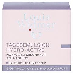 WIDMER Tagesemulsion Hydro-Active leicht parfüm. 50 Milliliter - Vorderseite