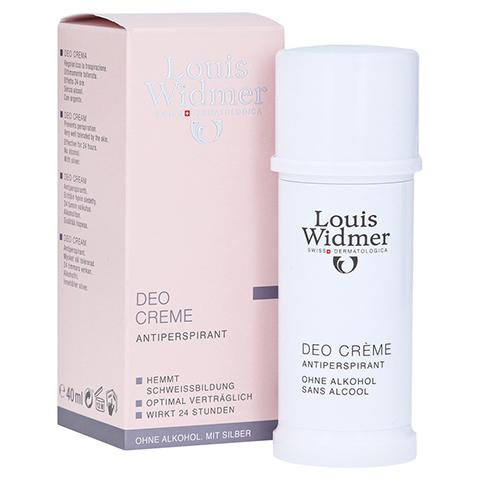 WIDMER Deo Creme leicht parfümiert 40 Milliliter
