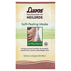 Luvos Crememaske Soft Peeling gebrauchsfertig 2x7.5 Milliliter