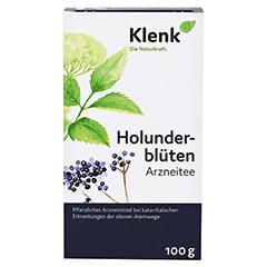 Holunderblüten Tee 100 Gramm - Vorderseite