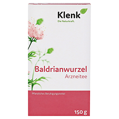 Baldrianwurzel-Tee 150 Gramm - Vorderseite