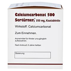 Calciumcarbonat 500 Sertürner 200 Stück - Linke Seite