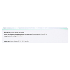 ZINKOXID Emulsion LAW 100 Gramm N3 - Oberseite