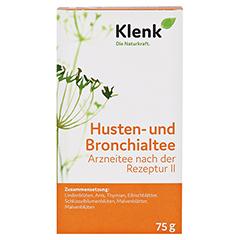 Husten- und Bronchialtee II 75 Gramm - Vorderseite