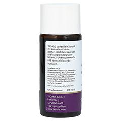 Taoasis Lavendel Massage Öl 50 Milliliter - Rechte Seite