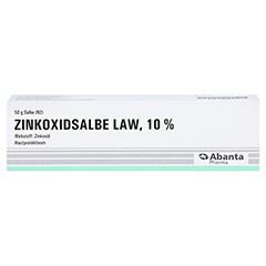 Zinkoxidsalbe LAW 50 Gramm N2 - Vorderseite