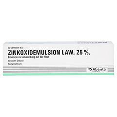 ZINKOXID Emulsion LAW 50 Gramm N2 - Vorderseite