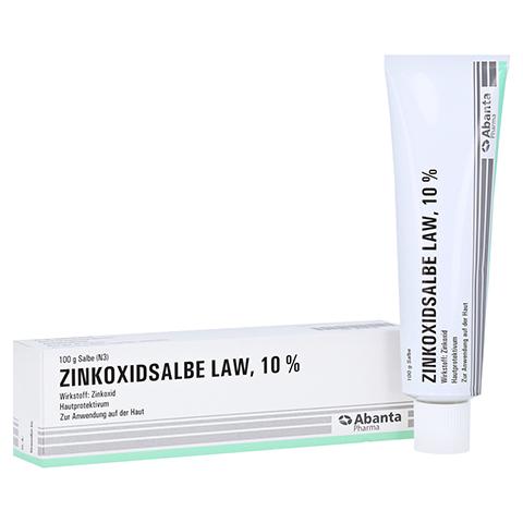 Zinkoxidsalbe LAW 100 Gramm N3