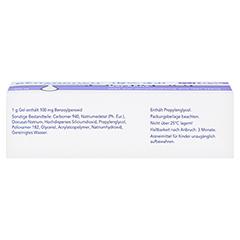Benzaknen 10% 50 Gramm N2 - Unterseite