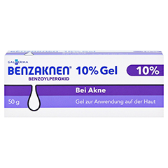 BENZAKNEN 10% Gel 50 Gramm N2 - Vorderseite