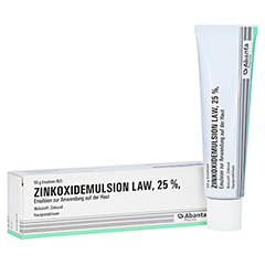 ZINKOXID Emulsion LAW 50 Gramm N2
