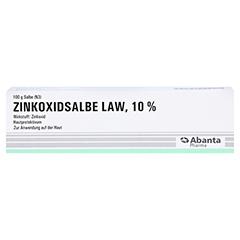 Zinkoxidsalbe LAW 100 Gramm N3 - Vorderseite