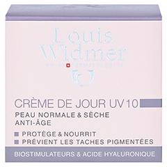 WIDMER Tagescreme UV10 leicht parfümiert 50 Milliliter - Rückseite