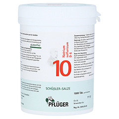 BIOCHEMIE Pflüger 10 Natrium sulfuricum D 6 Tabl. 1000 Stück