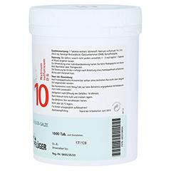 BIOCHEMIE Pflüger 10 Natrium sulfuricum D 6 Tabl. 1000 Stück - Linke Seite