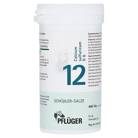 BIOCHEMIE Pflüger 12 Calcium sulfuricum D 6 Tabl. 400 Stück N3
