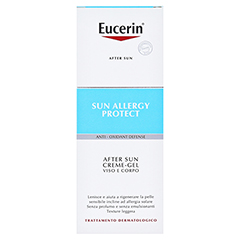 Eucerin Sun Allergy Protect After Sun Creme-Gel + gratis Eucerin Sun Oil Control Body LSF50+ 150 Milliliter - Rückseite