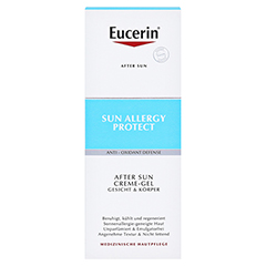 Eucerin Sun Allergy Protect After Sun Creme-Gel + gratis Eucerin Sun Oil Control Body LSF50+ 150 Milliliter - Vorderseite