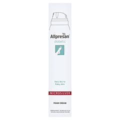Allpresan diabetic MIKROSILBER Schaum-Creme 200 Milliliter - Rückseite